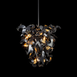 Kelp chandelier conical | Ceiling suspended chandeliers | Brand van Egmond