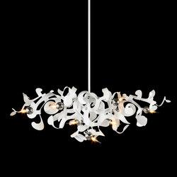 Kelp chandelier oval | Lustres suspendus | Brand van Egmond