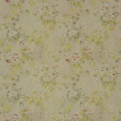Caprifoglio Fabrics | Floreale - Natural | Curtain fabrics | Designers Guild