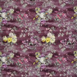 Caprifoglio Fabrics | Caprifoglio - Damson | Tejidos para cortinas | Designers Guild