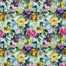 Caprifoglio Fabrics | Roseto - Celadon | Tejidos para cortinas | Designers Guild