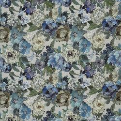 Caprifoglio Fabrics | Roseto - Indigo | Curtain fabrics | Designers Guild