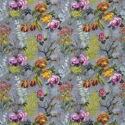 Caprifoglio Fabrics | Tulipani - Graphite | Curtain fabrics | Designers Guild