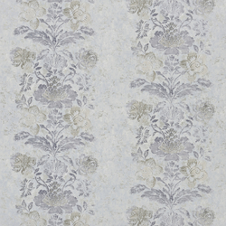 Caprifoglio Fabrics | Damasco - Slate | Curtain fabrics | Designers Guild