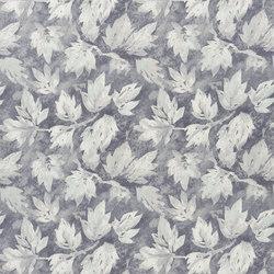 Caprifoglio Fabrics | Fresco Leaf - Graphite | Vorhangstoffe | Designers Guild