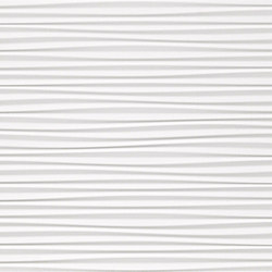 3D Wall Flows White Matt | Ceramic tiles | Atlas Concorde