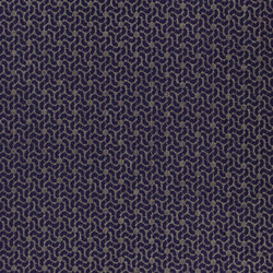 Castellani Fabrics | Morisset - Aubergine | Curtain fabrics | Designers Guild