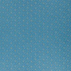 Castellani Fabrics | Morisset - Azure | Tissus pour rideaux | Designers Guild