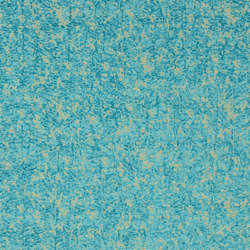 Carnets Andalous Fabrics | Arrugado Andaluz - Lagon | Curtain fabrics | Designers Guild