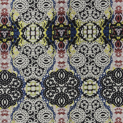 Carnets Andalous Fabrics | Souk - Multicolore | Curtain fabrics | Designers Guild