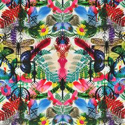 Nouveaux Mondes Fabrics | Caribe - Perroquet | Vorhangstoffe | Designers Guild