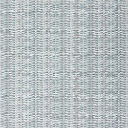 Nouveaux Mondes Fabrics | Barbade - Turquoise | Tissus pour rideaux | Designers Guild