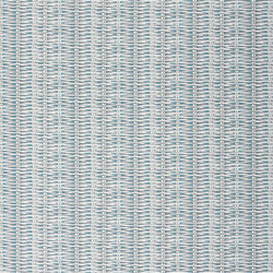 Nouveaux Mondes Fabrics | Barbade - Turquoise | Tessuti tende | Designers Guild