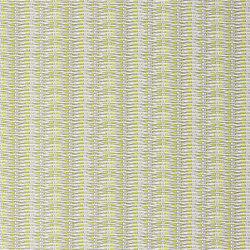 Nouveaux Mondes Fabrics | Barbade - Lime | Curtain fabrics | Designers Guild