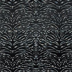 Nouveaux Mondes Fabrics | Soft Pantigre - Onyx | Tissus pour rideaux | Designers Guild
