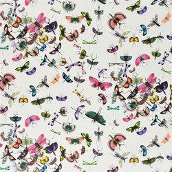 Nouveaux Mondes Fabrics | Mariposa - Perroquet | Curtain fabrics | Designers Guild