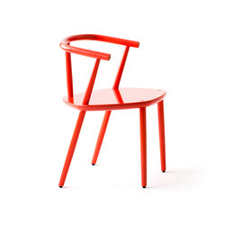 Five Chair Red | Restaurant chairs | Meetee