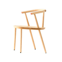 Five Chair Natural One Point | Restaurantstühle | Meetee