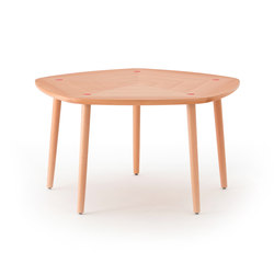 Five Dining Table Natural One Point | Tables de restaurant | Meetee