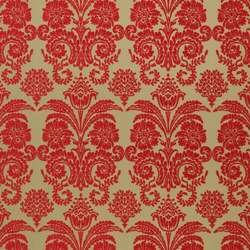 Ferrara Fabrics | Ferrara - Scarlet | Curtain fabrics | Designers Guild