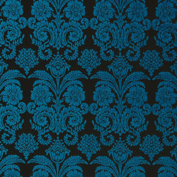 Ferrara Fabrics | Ferrara - Marine | Tissus pour rideaux | Designers Guild