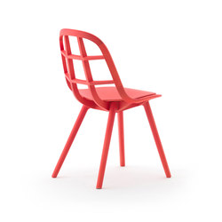 Nadia Chair Red | Chaises de restaurant | Meetee