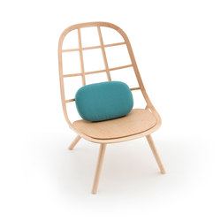 Nadia Lounge Chair Natural | Sillones | Meetee