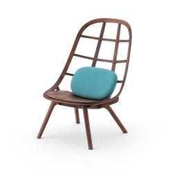 Nadia Lounge Chair WN | Poltrone lounge | Meetee