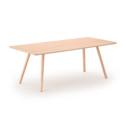 Nadia Dining Table Natural | Mesas para restaurantes | Meetee