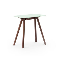 Nadia Side Table Rectangular Lime Green | Mesas auxiliares | Meetee