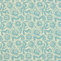 Havana Fabrics | Rosario - Aqua | Tissus pour rideaux | Designers Guild