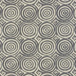 Havana Fabrics | Corales - Charcoal | Tissus pour rideaux | Designers Guild
