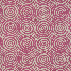 Havana Fabrics | Corales - Fuchsia | Curtain fabrics | Designers Guild