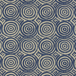 Havana Fabrics | Corales - Indigo | Tessuti tende | Designers Guild