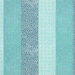 Havana Fabrics | Laguna - Aqua | Tissus pour rideaux | Designers Guild