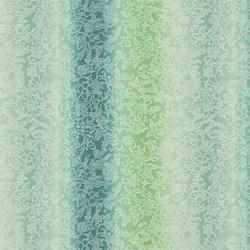Kaori Fabrics | Yuzen - Jade | Tissus pour rideaux | Designers Guild