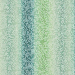 Kaori Fabrics | Yuzen - Jade | Curtain fabrics | Designers Guild