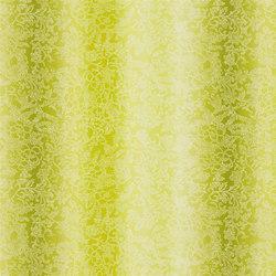 Kaori Fabrics | Yuzen - Moss | Tissus pour rideaux | Designers Guild