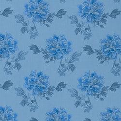 Kaori Fabrics | Hiyoku - Cobalt | Curtain fabrics | Designers Guild