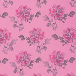 Kaori Fabrics | Hiyoku - Peony | Curtain fabrics | Designers Guild