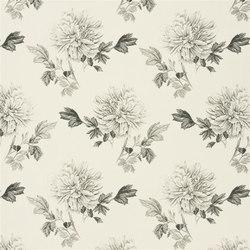 Kaori Fabrics | Hiyoku - Graphite | Curtain fabrics | Designers Guild