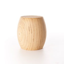 Motley Drum 40 Plywood Birch - Natural | Poufs | Wildspirit