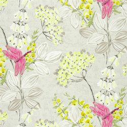 Kimono Blossom Fabrics | Kimono Blossom - Pebble | Tejidos para cortinas | Designers Guild