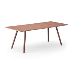 Nadia Dining Table WN | Esstische | Meetee
