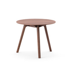 Nadia Side Table Round WN | Mesas auxiliares | Meetee