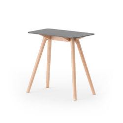 Nadia Side Table Rectangular Grey | Tavolini di servizio | Meetee