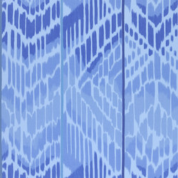 Madhuri Fabrics | Bandala - Cobalt | Curtain fabrics | Designers Guild