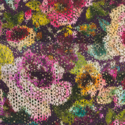 Madhuri Fabrics | Palasini - Damson | Curtain fabrics | Designers Guild