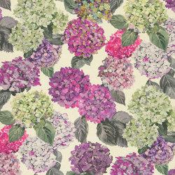 Madhuri Fabrics | Sudara Lino - Magenta | Curtain fabrics | Designers Guild