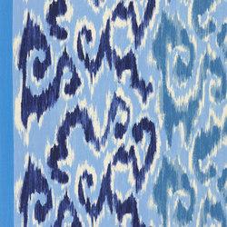 Madhuri Fabrics | Sungadi - Indigo | Curtain fabrics | Designers Guild